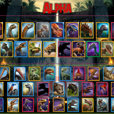 Jurassic World Alive Tier List (Community Rank) - TierMaker