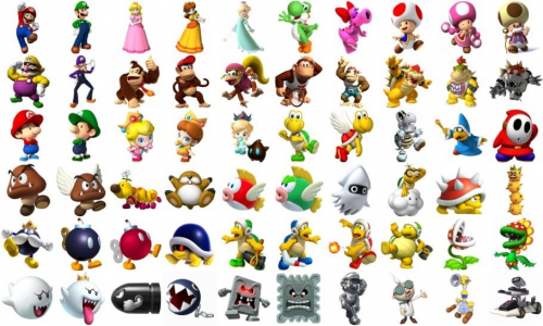 Create A Super Mario Characters Not All Characters Tier