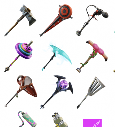 Create A Fortnite Pickaxes Tier List Tiermaker