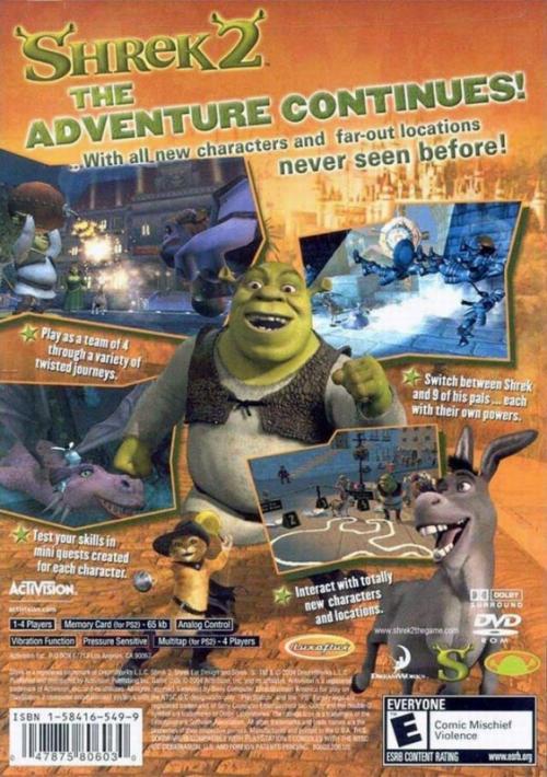 Shrek 2 Ps2 Tier List Community Rank Tiermaker