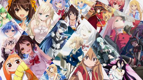 Girls geile anime Anime: 5,565