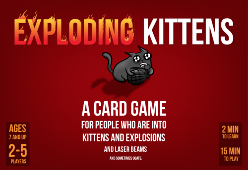 Create A Exploding Kittens Cards Expansions Tier List Tiermaker