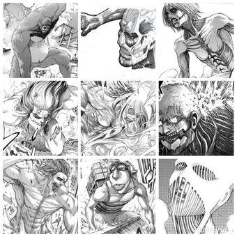 Create a Attack on Titan The Nine Titans Tier List - TierMaker