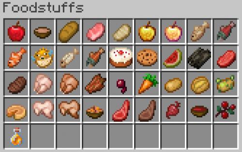 Create a Minecraft Foods Tier List - TierMaker
