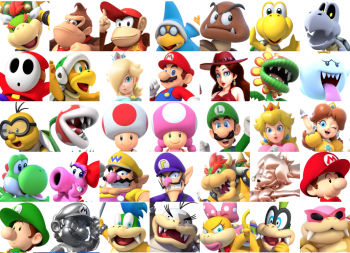 Create A Super Mario Characters Tier List Tiermaker