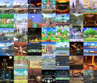 Create a Smash Bros  Ultimate Stages Tier List - TierMaker
