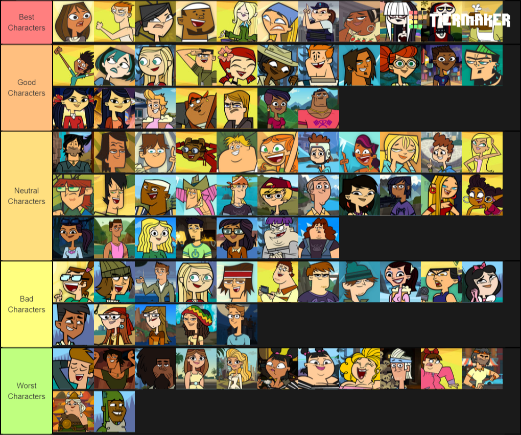 Just My Opinion Total Drama Character